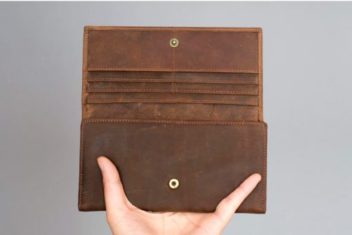 Buy leather wallet Vintage