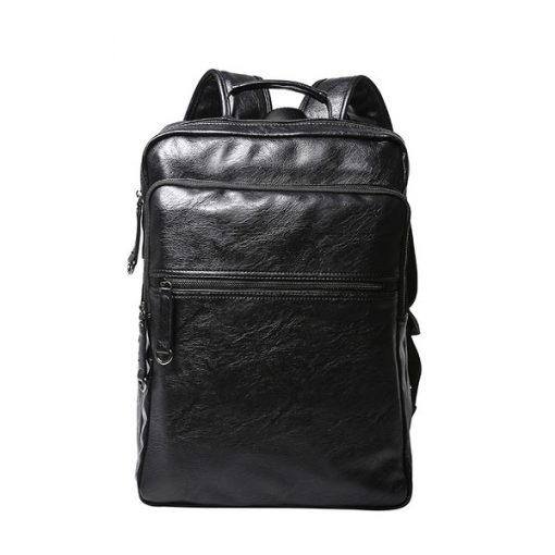 buy leather backpack for laptop