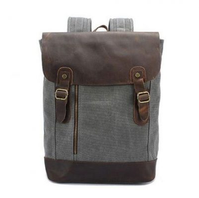 buy leather and texture combo backpack