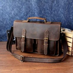 Buy Briefcase made of Genuine Leather