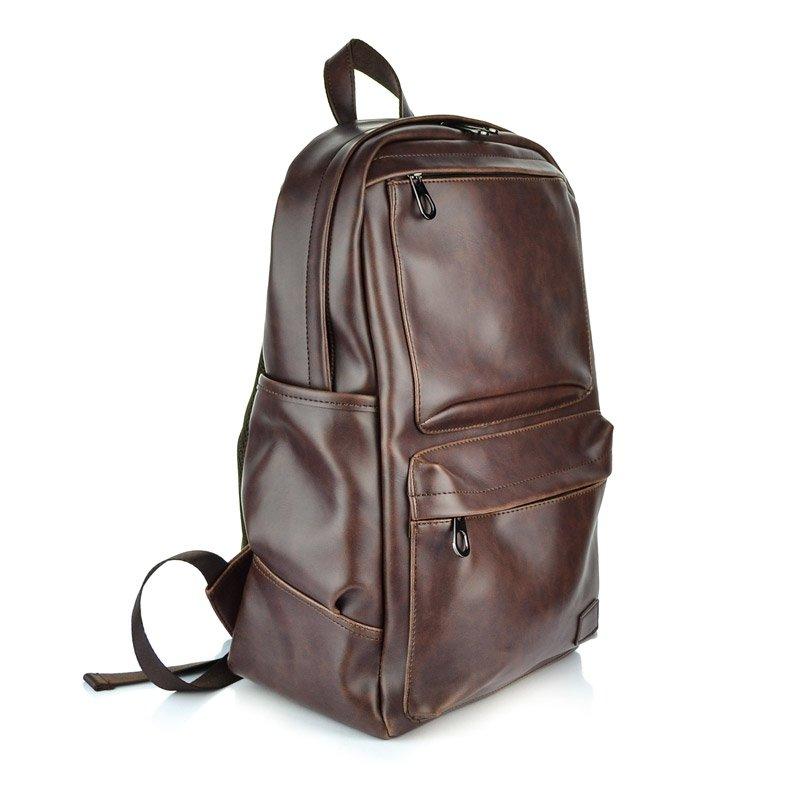 купить вместительный кожаный рюкзак в бишкеке