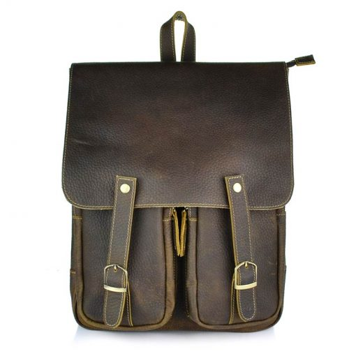 Exlusive backpack made of genuine leather