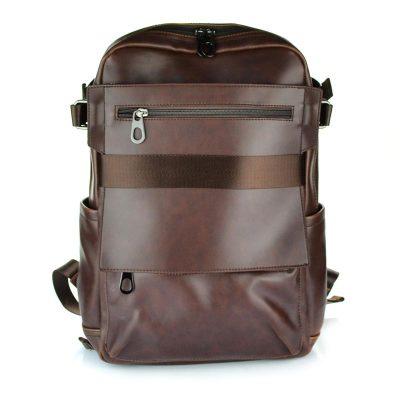 buy leather backpack unisex