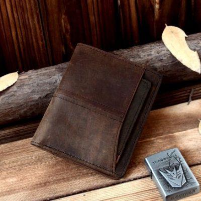 Купить мужское портмоне из натуральной кожи (артикул: 168) в Бишкеке
