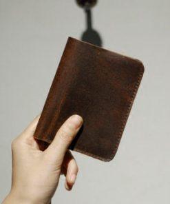 Купить портмоне из потертой кожи (артикул: 169) в Бишкеке