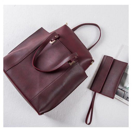 Купить строгую женскую сумку (артикул: 197) в Бишкеке. Клатч в подарок!