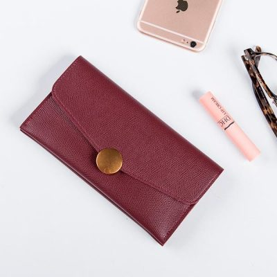 Купить женский кожаный кошелек (артикул: 202) в Бишкеке