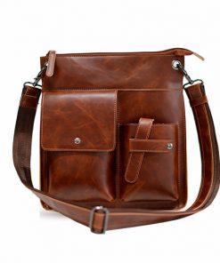 Купить кожаную сумку через плечо (артикул: 179) в Бишкеке