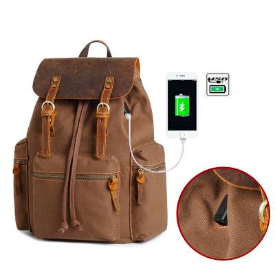 Купить рюкзак Vintage Smart с usb портом (артикул: 233) в Бишкеке