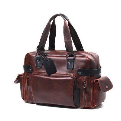 Купить кожаную дорожную сумку (артикул: 221) в Бишкеке