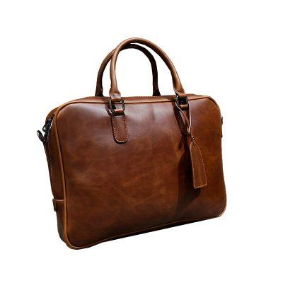 Купить кожаную сумку-портфель для документов (артикул: 228) в Бишкеке