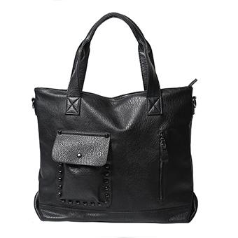 Купить женскую сумку, цвет: черный, размеры: 37*44*12 см (артикул: 257) в Бишкеке