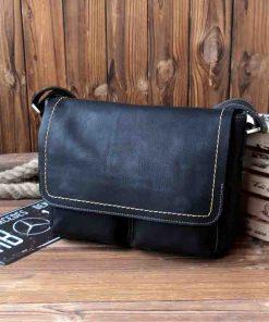 Купить кожаную мужскую сумку через плечо (артикул: 278) в Бишкеке