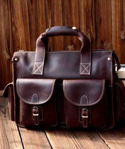 Купить кожаную дорожную сумку (артикул: 274) в Бишкеке