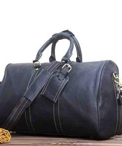Купить дорожную сумку из натуральной кожи (артикул: 275) в Бишкеке