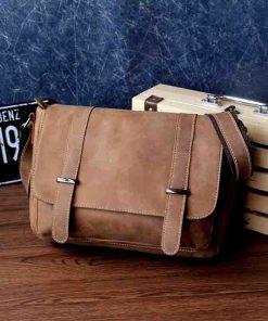 Купить сумку-месенджер из натуральной кожи (артикул: 276) в Бишкеке