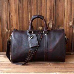 1692558d963f Купить дорожную сумку из натуральной кожи (артикул: 275) в Бишкеке