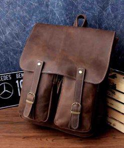 Купить рюкзак из натуральной кожи для девочки (артикул: 272) в Бишкеке