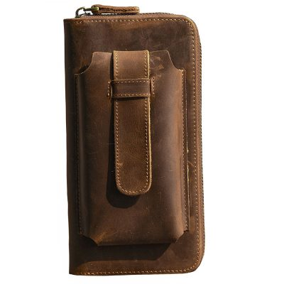 функциональный кошелек из натуральной кожи